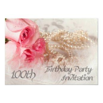 100th Birthday party