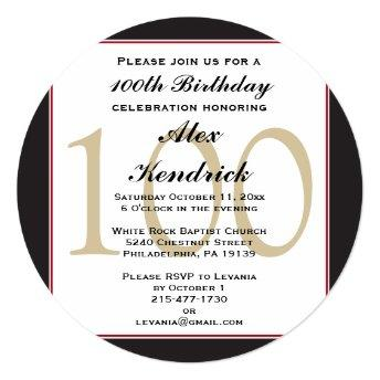 100th Centennial Birthday