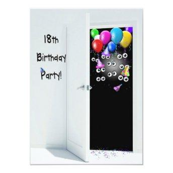 18th Birthday Party Surprise