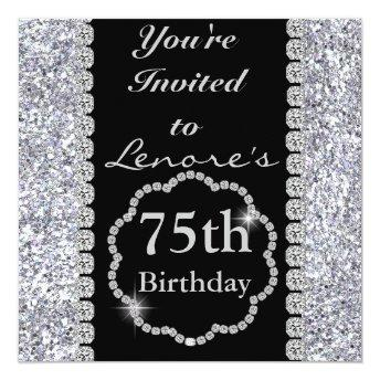75th BLING Birthday Party
