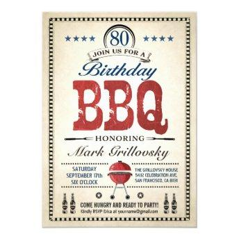 80th Birthday BBQ