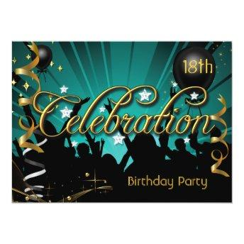 Any Age Birthday Party Celebration Teens or Adults