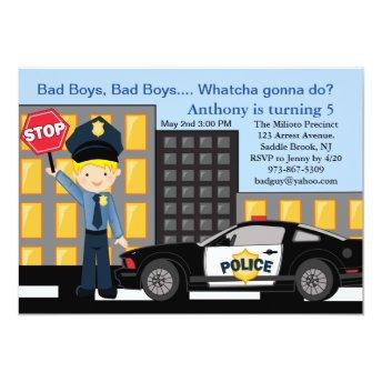 Bad Boys, Bad Boys Policeman