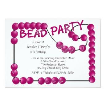 Bead Party