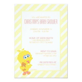 Big Bird Baby Shower Invite