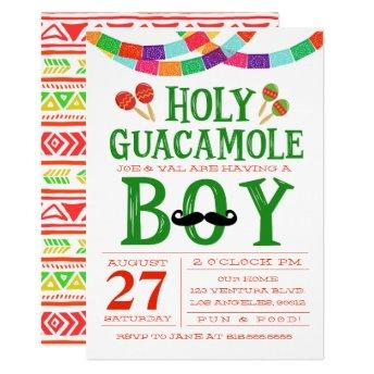 Boy's Baby Shower Fiesta