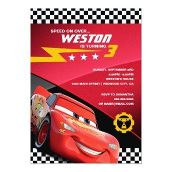 Cars Lightning McQueen | Birthday