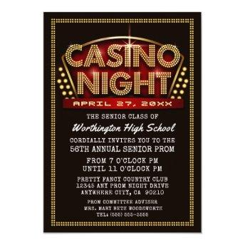 Casino Night Party Themed Prom