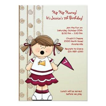 Cheerleader Girl Birthday Party