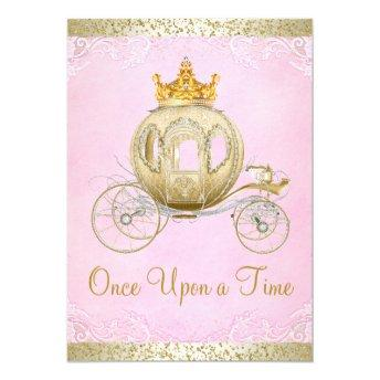 Cinderella Pink Once Upon a Time Princess Birthday