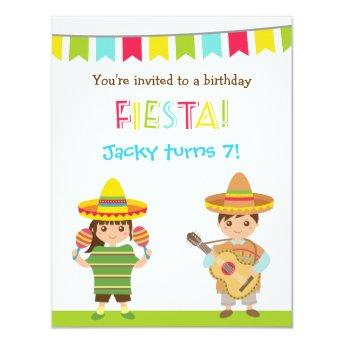 Colourful Mexican Fiesta Kids Birthday