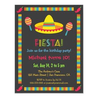 Colourful Mexican Fiesta Kids Birthday Party