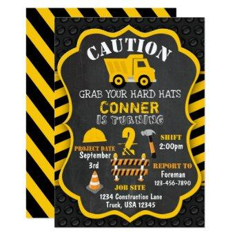 Construction Birthday  | Dump Truck