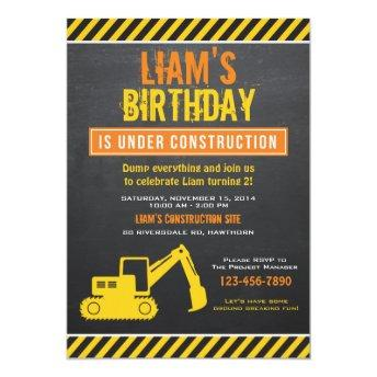 Construction Invitation / Construction Invite