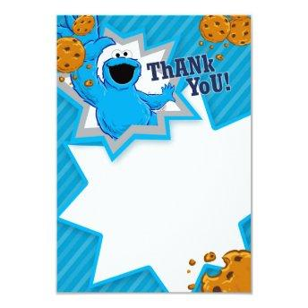 Cookie Monster Thank You