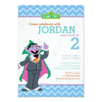 Count von Count Birthday Invitation