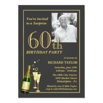 Customized 60th Birthday Party