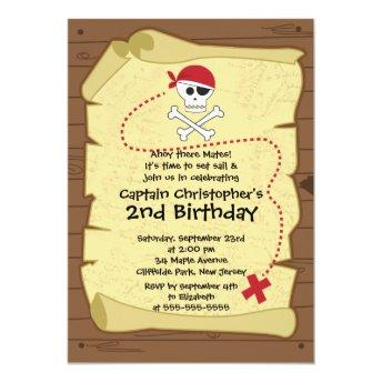 Cute Ahoy Mates Pirate Birthday Party