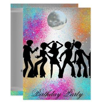 Dance Disco Surprise Birthday Party