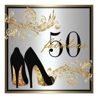 Dancing Shoes - Fabulous 50th