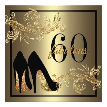 Dancing Shoes - Fabulous 60th Birthday