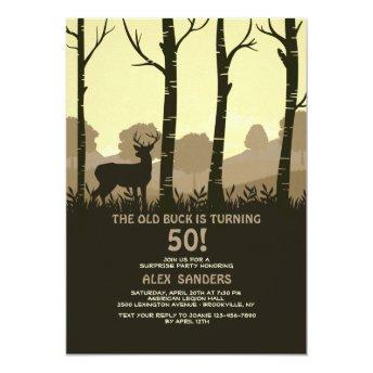 Deer In The Woods Invitation
