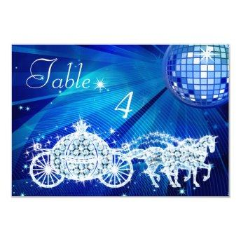 Disco Ball, Princess Coach & Horses Double Sided