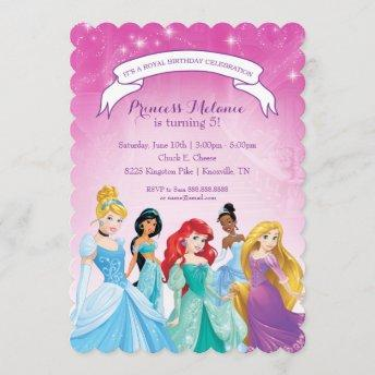 Disney Princess | Birthday Invitation