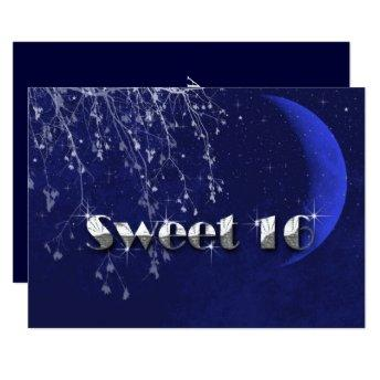 Enchanted Evening, Moon and Stars, Sweet Sixteen, Invitation