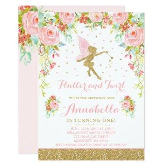 Fairy Birthday  Whimsical Magical Party