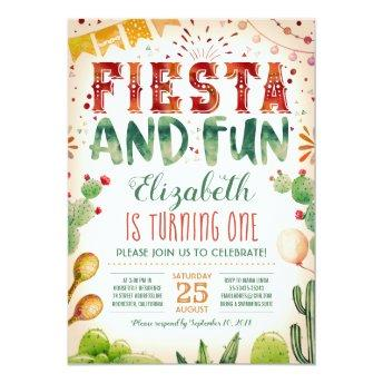 Fiesta and Fun | Summer Birthday Party