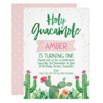 Fiesta Holy Guacamole Birthday