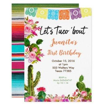 Fiesta Mexican 1st Birthday Party