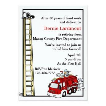 Firefighter Retirement/Birthday Party
