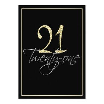 Formal Silver Black and Gold 21st Birthday Party