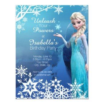 Frozen Elsa Birthday Party