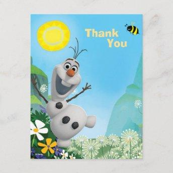 Frozen Olaf | Wild for Summer Thank You