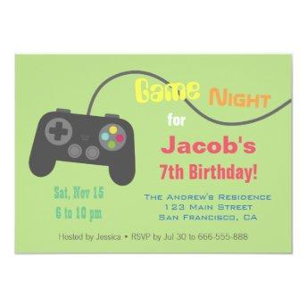 Game Controller Video Game Night Party