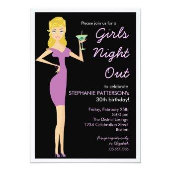 Girls Night Out Cocktail Diva Birthday Party