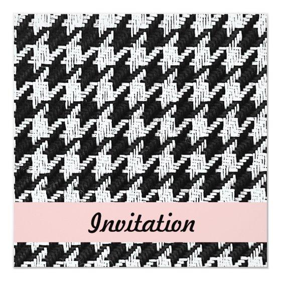 Black And White Party Invitation Template from www.birthdaypartyinvitations.info