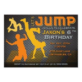 Jump Birthday  - Bounce House Trampoline