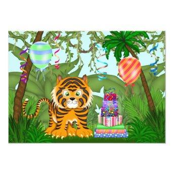 Jungle Bengal Tiger Birthday Party
