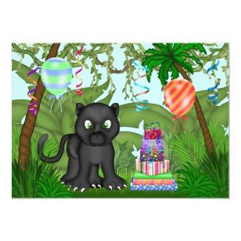 Jungle Panther Birthday Party