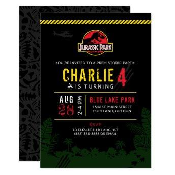Jurassic Park | Dinosaur Birthday Invitation