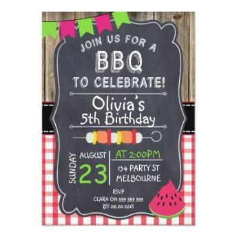 Kids BBQ Birthday Party