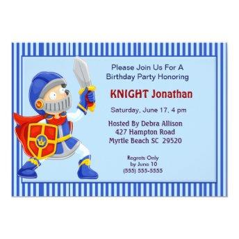 Knight In Armor Birthday