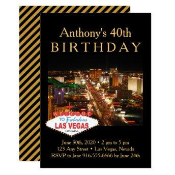Las Vegas Strip Birthday Party