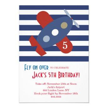 Little Airplane Birthday Party