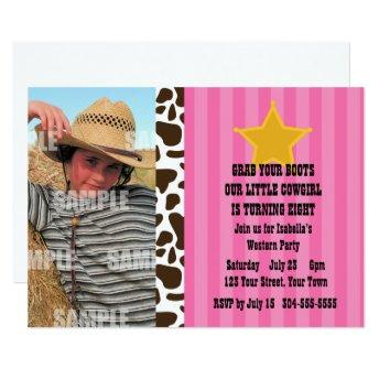 Little Cowgirl Birthday Party