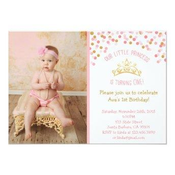 Little Princess Birthday - Pink and Gold